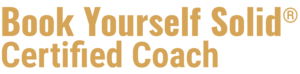 Book Yourself Solid® gold logo