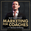 Logo image for Marketing for Coaches podcast